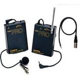 AZDEN WLX-PRO 专业摄像机用无线采访话筒 无线麦克风