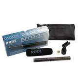 RODE NTG-1 指向性枪式电容话筒 广播级采访话筒/录音话筒