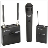Azden 200-ULH无线采访话筒 一带二采访麦克风 摄像机用传声器