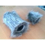 大膜片话筒毛防风罩/毛话筒罩/毛毛罩及减震支架套装特价