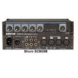 SHURE 舒尔 SCM268/4通道话筒混音器/便携调音台
