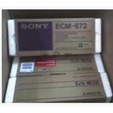 采访话筒SONY ECM-672/电容麦克风/摄像机用采访咪/索尼672