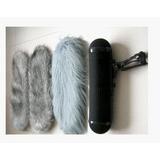 笼毛三件套/话筒挑杆笼子/鱼杆专用笼毛/悬挂架毛衣 猪笼套装