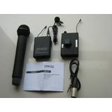 台湾逊卡/广播级无线麦克风U段话筒 无线采访手持领夹话筒 一托二