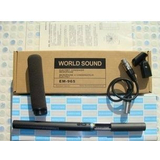 WORLD SOUND EM-965/采访话筒、摄像机采访话筒/摄像机话筒/录音话筒