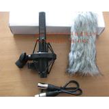 遜卡XUOKA ML-64采訪話筒 攝像機錄音麥克風 電容話筒 毛衣套裝