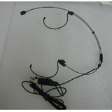 SHURE 舒尔 专用头戴话筒 4芯插头 头戴麦克风 适配shure无线话筒