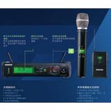 SHURE 舒尔 SLX14E/93(SLX14/93)专业U段一拖一无线手持/领夹话筒