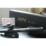 JZW PA-231专业采访话筒套装1,极致维采访麦克风,摄像机用传声器,配有支架,2种供电方式