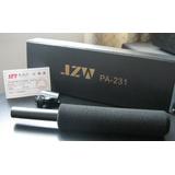 極致維JZW PA-231專業采訪話筒,采訪麥克風,攝像機用傳聲器,配有支架,2種供電方式