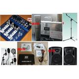 专业录音套装,录音K歌套装 JZW MC-965话筒 调音台