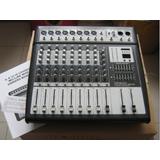 8路专业调音台逊卡XUOKA MUX-800,舞台演出会议扩声,带SD卡USB接口