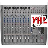 美国山逊samson L1200 12路调音台