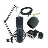 奥创 SP620 电容话筒 MC002电容麦克风 网络K歌套装 看视频录音