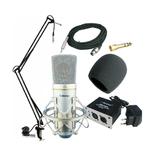 奥创 SP630 电容话筒 MC310电容麦克风 网络K歌套装 看视频录音