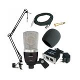 奥创Alctron SP640实惠型网络K歌套装,电容话筒套装,录音麦克风