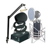 奥创Alctron SP720超豪华型网络K歌套装 电容话筒套装 电容麦克风