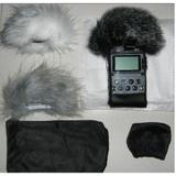 SONY索尼 PCM-D50 H4N 录音机 录音棒专用毛衣防风罩 皮套 特价