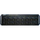 Luckysound ms813隔离话筒分配器 8路无源话筒分配器