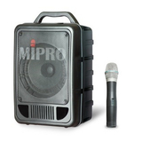 台湾Mipro咪宝 MA-705 精致型手提式无线扩音器 正品行货