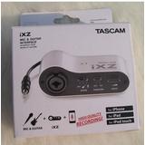 Tascam iXZ iPhone/iPad/iPod touch 麦克风/吉他输入接口装置