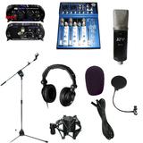 录音套装 录音棚专用 JZW MC-961专业录音话筒 膜片话筒