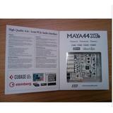 新产品ESI MAYA44 XTe 声卡 国内到货,附送正版的Cubase LE5