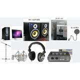 中小型专业录音棚配置方案:酷恩音频工作站,逊卡BMK-6A监听音箱等