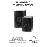 英国乐富豪Wharfedale有源监听音箱Diamond 8.1PRO 正品行货
