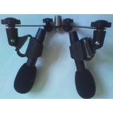 逊卡XUOKA US-8V立体声录音话筒,舞台演出麦克风,双头拾声