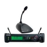 SHURE 舒尔 SLX4+MX890+MX410无线会议话筒 正品行货