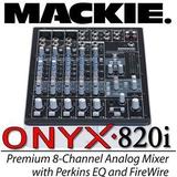 MACKIE TAPCO ONYX820I 火线接口8路调音台 正品特价