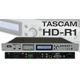 TASCAM HD-R1 专业固态硬盘录音机 1U机架式录放机