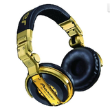 Pioneer/先鋒 HDJ-1000 LTD 限量版 DJ專用耳機 金色