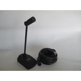 TAKSTAR/得胜MS-600台式麦克风纯震膜电容话筒专业会议话筒单声道