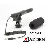 阿兹丹AZDEN SMX-10 专业立体声话筒 麦克风 5D 6D 7D适用 包邮