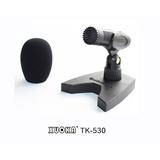 逊卡XUOKA TK-530高品质播音话筒 广电主持人桌面录音麦克风
