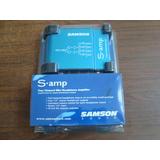 SAMSON S.AMP 4路 山逊 耳机分配器 耳放