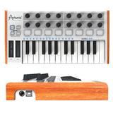 Arturia MiniLab 25键全功能MIDI控制器 带打击垫