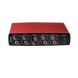 艾肯 ICON ReoAmp耳机放大器红色版8路耳机分配器