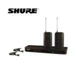 Shure/舒爾 BLX188/CVL 無線雙領夾麥克風 一托二無線雙領夾話筒