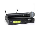 SHURE 舒尔 SLX24/BETA58A 无线手持人声话筒