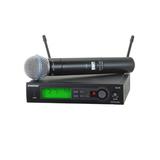 Shure舒尔 SLX24/BETA87A 全新 一拖一无线话筒