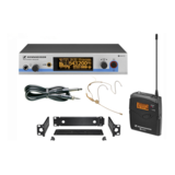 SENNHEISER/森海塞爾 EW572G3+HSP2 全向型一拖一無線頭戴話筒