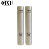 MXL 603 PAIR 对装乐器麦克风 立体声 乐器话筒