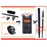 同期录音套装 TN-85C话筒录音机 5米挑杆 监听耳机
