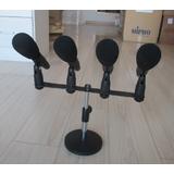 JZW YHL-9400 专业录音话筒/配四话筒 主席台演讲电容话筒 录音麦克风