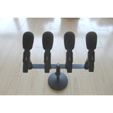 JZW YHL-9800 专业录音话筒/配四话筒 主席台演讲电容话筒 录音麦克风