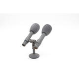 逊卡XUOKA CR80专业双枪电容式录音话筒 会议演讲/播音/舞台演出麦克风