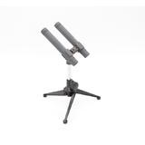 逊卡XUOKA CR66专业双枪电容式录音麦克风 会议演讲/播音/舞台演出话筒